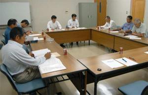 久米地区工業部役員会 平成19年6月22日