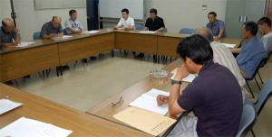平成19年7月24日 久米地区工業部会議