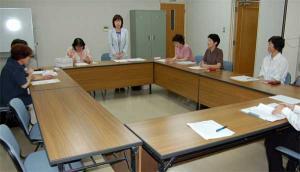 久米地区女性部全体会議 平成19年6月13日