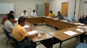久米地区工業部会議 平成20年7月25日