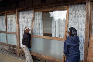 久米地区工業部ボランティア活動 平成19年12月9日