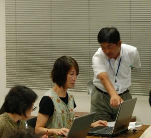 作州津山商工会パソコン講習会「パソコン基本操作編」が、22日開催されました。