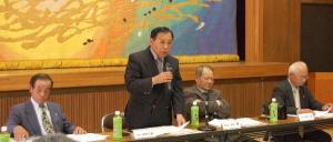作州津山商工会第1回理事会(津山市阿波公民館、加茂・阿波地区)