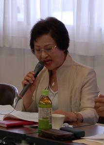 作州津山商工会第1会理事会(奈義支所)女性部