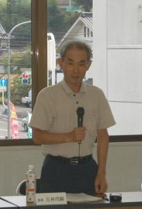 作州津山商工会第2回理事会(勝北・加茂・阿波・久米・奈義)