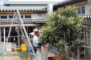 久米地区工業部ボランティア活動 平成20年8月24日