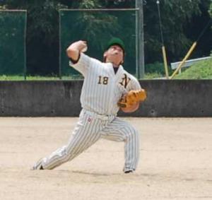 作州津山のエース久永投手!
