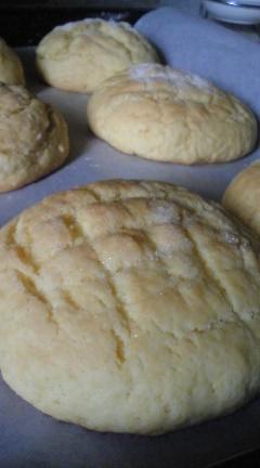 超簡単メロンパン