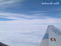 厚い雲の上は*