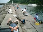 賑わいの松輪港