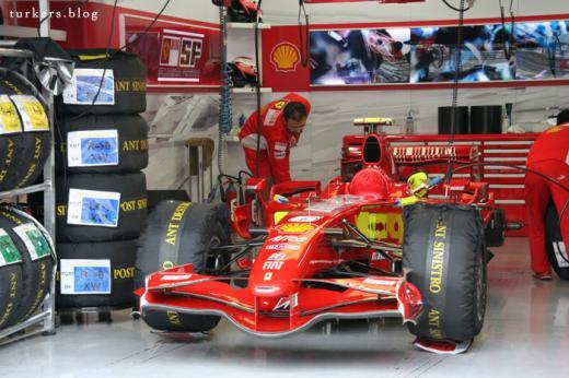 F1 日本GP 富士スピードウェイ ライコネン
