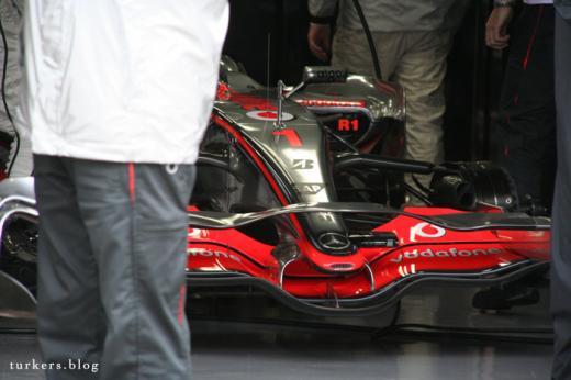 F1 日本GP 富士スピードウェイ マクラーレン