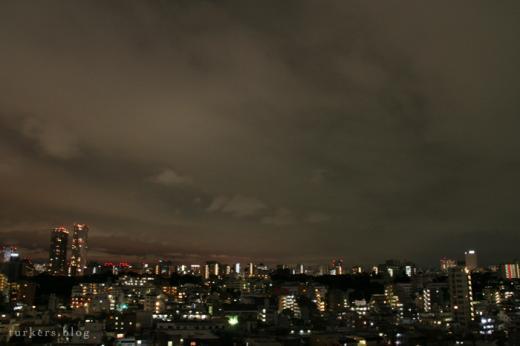 東京の夜空2007