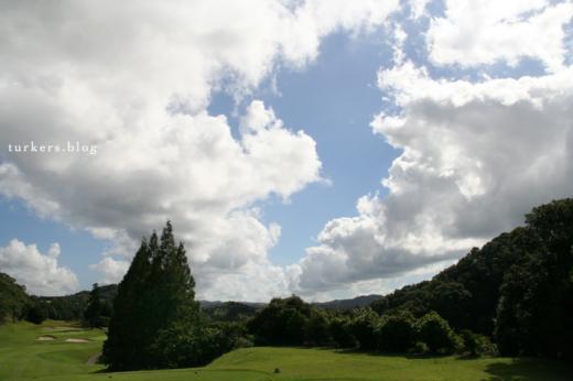 雲 ゴルフ場