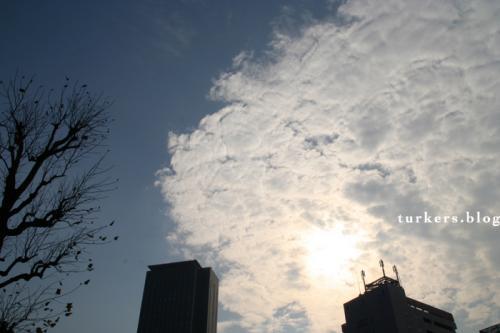 12月13日の雲