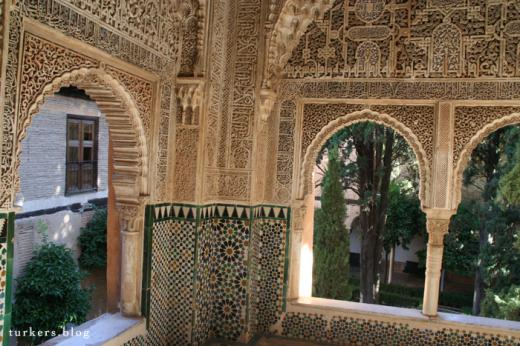 アルハンブラ宮殿 ナスル朝宮殿内