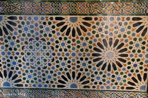 アルハンブラ宮殿 タイル