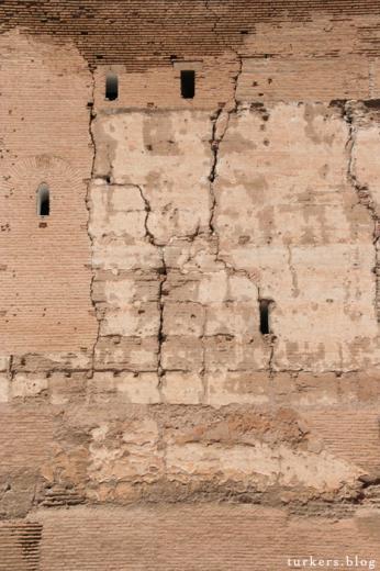 アルカサバ 壁