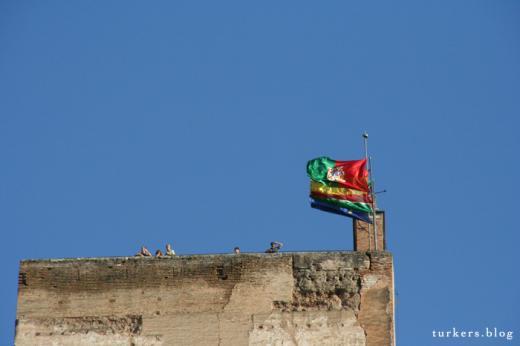 グラナダ アルハンブラ宮殿 ズーム
