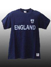 BB JEANS LONDON / レトロサッカーTシャツ(イングランド)
