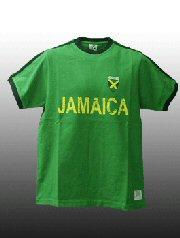 BB JEANS LONDON / レトロサッカーTシャツ(ジャマイカ)