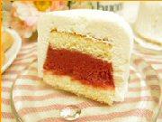 お取り寄せスイーツ 「キャトル アンジュ」 / 苺とリュバーブを使った甘酸っぱいソース!
