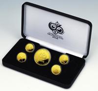 2006FIFAワールドカップドイツ大会TM 公式記念コイン金貨4種セット