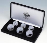 2006FIFAワールドカップドイツ大会TM公式記念コイン 銀貨6種セット
