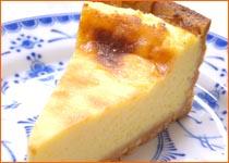 お取り寄せスイーツ「特製チーズケーキ」 / こだわりの厳選素材を使用