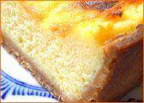 お取り寄せスイーツ「特製チーズケーキ」 / ふんわり濃厚チーズは絶品