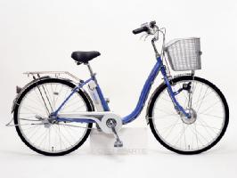 サンヨー エナクル 電動アシスト自転車 CY-SN243DB-V(24インチ/ラベンダー)