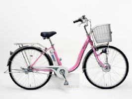 サンヨー エナクル 電動アシスト自転車 CY-SN263DB-P(26インチ/パールピンク)