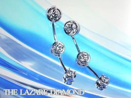 「トリロジー(スリーストーン・ダイヤモンド)」荒川静香さんが付けていたピアスです!
