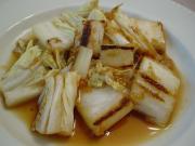 白菜のしょうが焼き