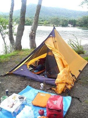 十和田湖にて