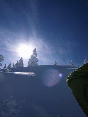 雪山太陽1