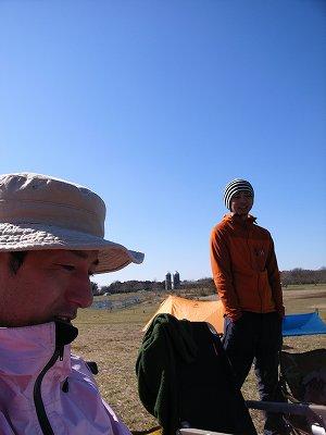 凍てつくキャンプ1
