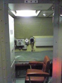 潜水艦 艦長室