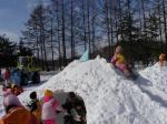 幼稚園冬の運動会雪像その2