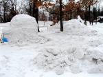 他の雪像たち
