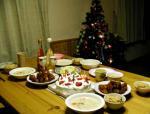 クリスマスイヴの料理