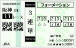 阪神JF 三連単