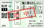 阪神JF 三連複