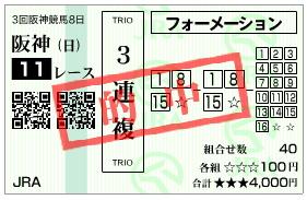 プロキオンS_三連複