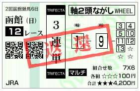 函館12R_三連単_070729