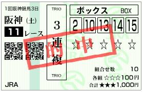 チューリップ賞_三連複_080308