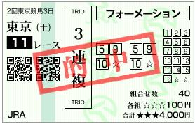 青葉賞_3連複_080503