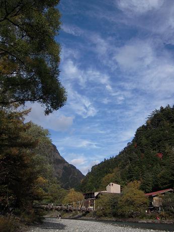 秋の上高地 002