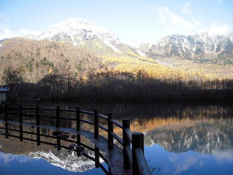 11月の焼岳