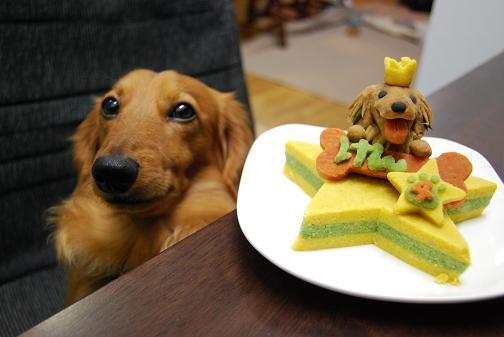ケーキとけん
